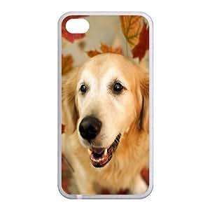 Custom Dog Back Case for iphone4,4S JN4S-093