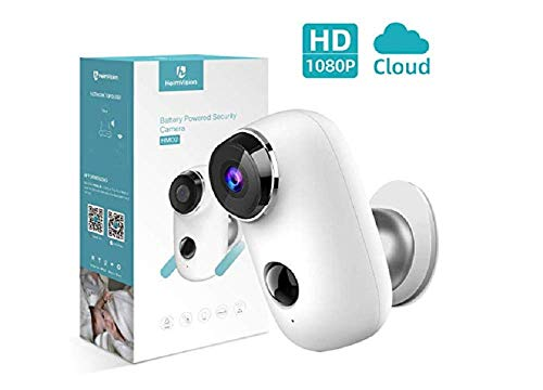 HeimVision HMD2 Wireless Rechargeable Battery-Powered Security Camera, 1080P Video with 2-Way Audio, Night Vision, Waterproof Home Indoor/Outdoor WiFi Cameras with Cloud Service