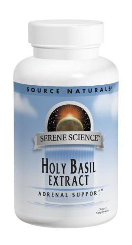 Source Naturals Serene Science Holy Basil Extract, 450mg, 60 Capsules 450 Mg 60 Capsules