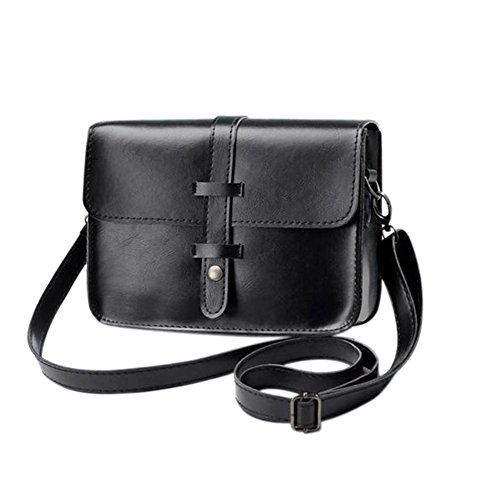 Brown Leather Bag Shoulder Satchel Button Light Faux dragonaur size Messenger Black Crossbody Women Handbag Medium qgwZOxa