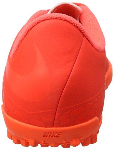 Nike 749922-688, Botas De Fútbol para Niños Naranja (Bright Crimson / Hyper Orange)