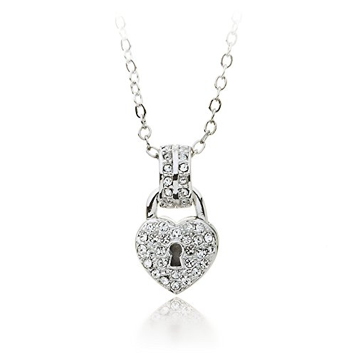 necklace the hut lock pendant your pandora promise jewel