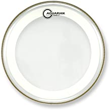 Aquarian Drumheads MRS2-18 Super-2 Clear with Studio-X Ring 18-inch Tom Tom Drum Head