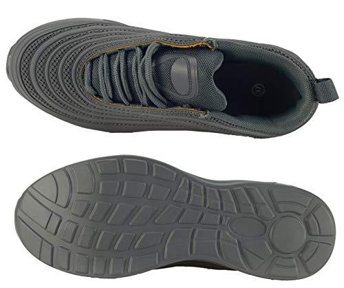 Unisex Basse Elifano Da H10 Ginnastica Grigio Scarpe Adulto Scuro Footwear a7rgpaY