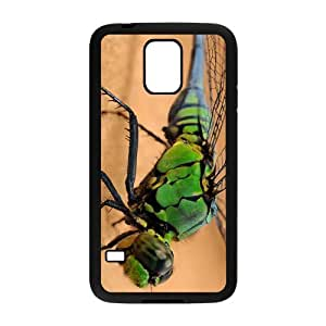 The Green dragonfly Hight Quality Plastic Case for Samsung Galaxy S5