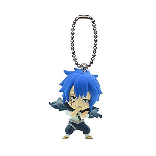 "Price comparison product image Bandai Fairy Tail Swing Keychain Key chain Vol 2 mini Figure 2""-Jellal Fernandes"