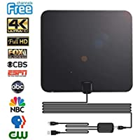 TV Antenna Digital Antenna for HDTV Indoor 60miles Range...