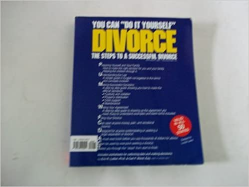 You can do it yourself divorce the steps to a successful divorce you can do it yourself divorce the steps to a successful divorce carl wand 9781879191051 amazon books solutioingenieria Image collections