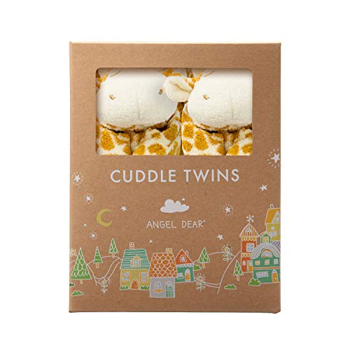 (Angel Dear Cuddle Twin Set, Brown Giraffe )