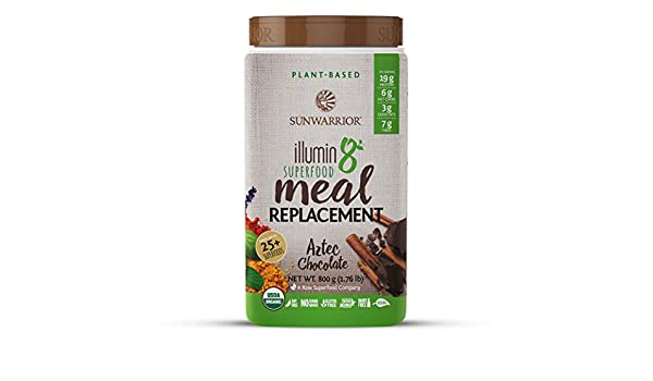 Sunwarrior Illumin8 Aztec Chocolate - 800 gr: Amazon.es ...