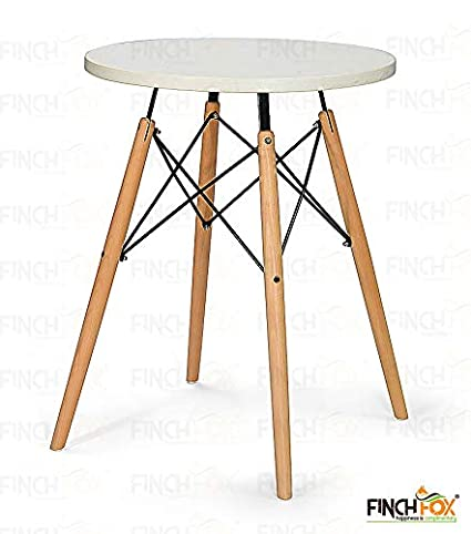 Finch Fox Mid Century Modern Eames Style Round Dining Table