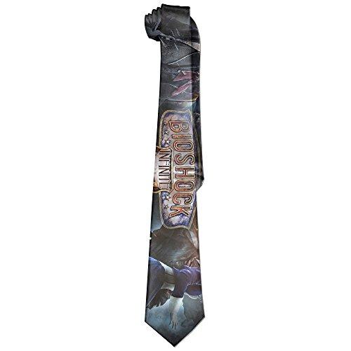 Mens Bioshock Characters Leisure Wide Tie Necktie Costume Accessory Fashion Design - 10th Doctor Costume Tie