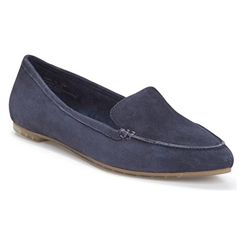 Pointed Navy Me Dark Loafer Suede Audra Navy Toe Too Pww7txqXH