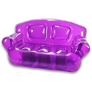 Inflatable Bubble Couch, Perfect Purple
