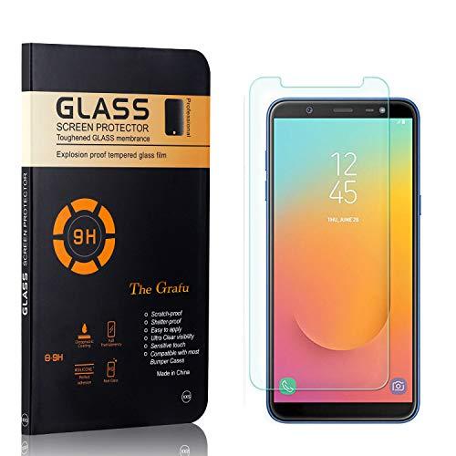 The Grafu Displayschutzfolie für Galaxy J8 2018, Anti Fingerabdruck, 3D Touch, Ultra klar Hart Schutzfilm aus Gehärtetem Glas für Samsung Galaxy J8 2018, 1 Stück