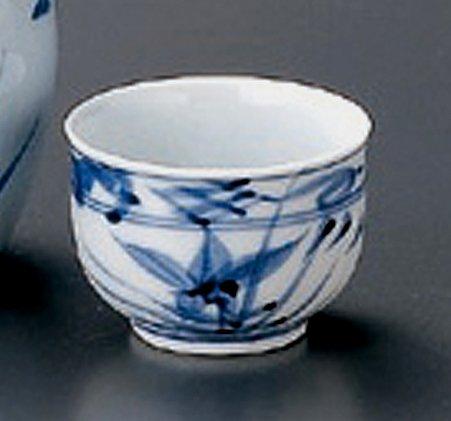KIKYOU Jiki Japanese Porcelain Set of 2 Sake Cups watou.asia