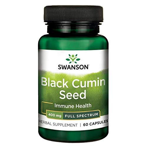 Swanson Full Spectrum Black Cumin Seed 400 Milligrams 60 Capsules For Sale