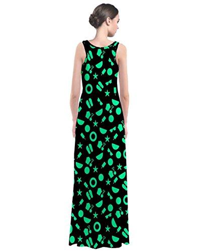 CowCow - Vestido - para mujer verde menta