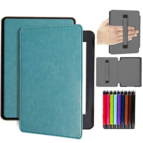 Christmas Best Kindle Accessory!!Kacowpper Slim Leather Case Smart Cover for Amazon Kindle Paperwhite 4 2018 Sleep/Wake