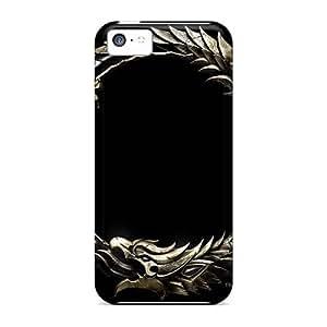 Shock-Absorbing Hard Phone Cover For Iphone 5c (urJ18568EFeK) Support Personal Customs Lifelike Rise Against Skin