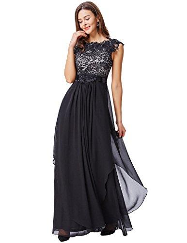 embellished bodice maxi dress - 7