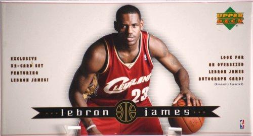 2003 Lebron James 32 Card Boxed