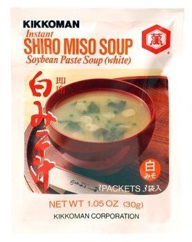 Kikkoman Instant Shiro Miso (White) Soup Value Pack (9 Pockets) - 3.15 Oz