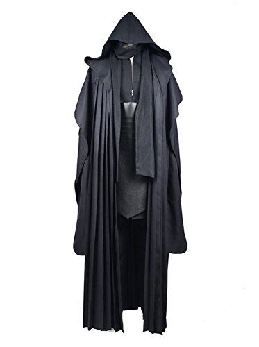 Fancycosplay Mens Tunic Robe Uniform Linen Version Cosplay Costume