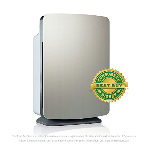 Alen BS-FRESHPLUS-STA BreatheSmart HEPA-FreshPlus Air Purifier Brushed Stainless