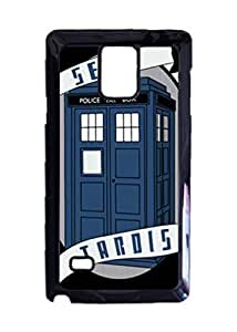 Engood Design Doctor Who TARDIS Sexy Tardis Case Durable Unique Design Hard Back Case Cover For Samsung Galaxy Note 4 New hjbrhga1544