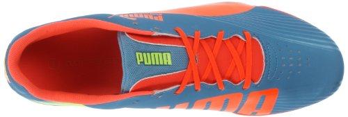 Puma Mens Puma Evospeed Stjerne Ii Fotballsko Hai Blå / Fluoriserende Fersken / Fluoriserende Gul