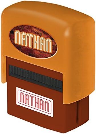 Die carterie Nathan Stempel Stempelkissen Personalisierte