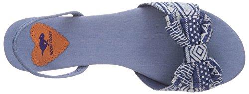 Rocket Dog Babydoll Damen Slingback Sandalen Blau (Blue Zuma)
