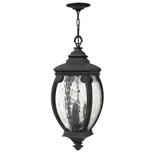 Hinkley 1942MB Traditional Three Light Hanging Lantern from Forum collection in - Outdoor Lantern Forum