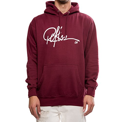 d4a8247a on sale Young and Reckless - Signature Hoodie- Burgundy - - Tops - Hoodies