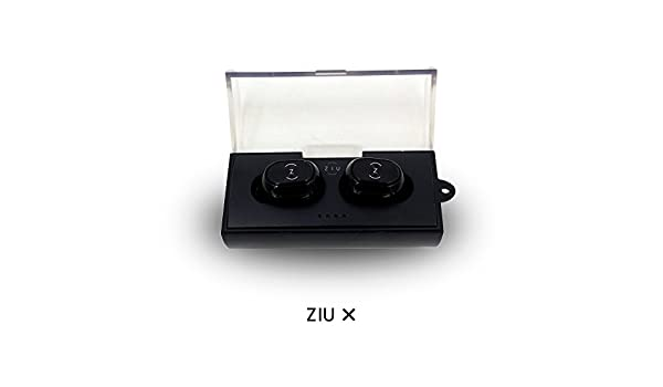 Ziu Smart Items X - Auriculares inalámbricos Bluetooth, Color Negro: Amazon.es: Electrónica