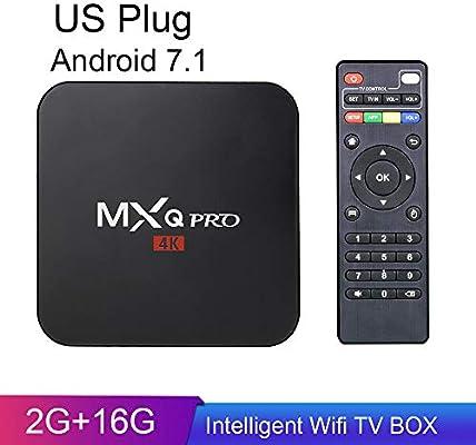 JuneJour TV Box Android 8.1/7.1 1GB/2GB+8GB/16GB 4K Smart TV Box con Mando a Distancia WiFi, 7,1 US, S905W16G: JuneJour: Amazon.es: Hogar