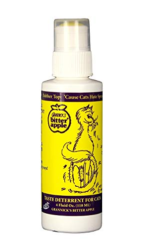 - Grannick Bitter Apple Spray with Dabber Top for Cats 4oz by Grannick's