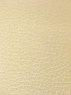 Amazon Com Cream Bonded Leather Vinyl Upholstery Fabric Per Yard