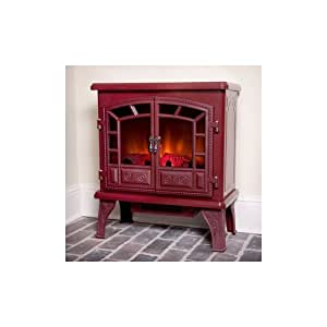 Amazon.com: Duraflame Liberty Cranberry Electric Fireplace ...