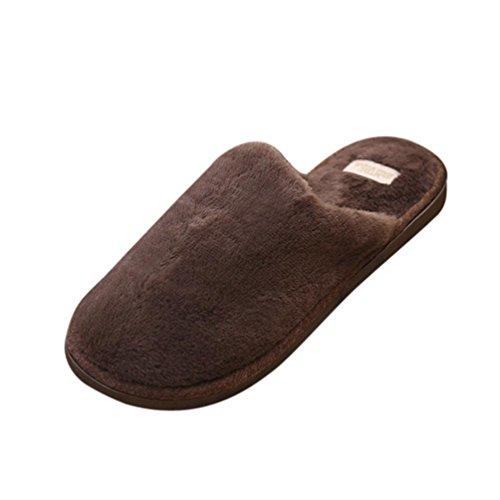 Coperto Pantofole Plush Al Solido Antiscivolo Marrone Morbido Caldo Inverno Byste Scarpe Bowknot Donna nqwHYSRH