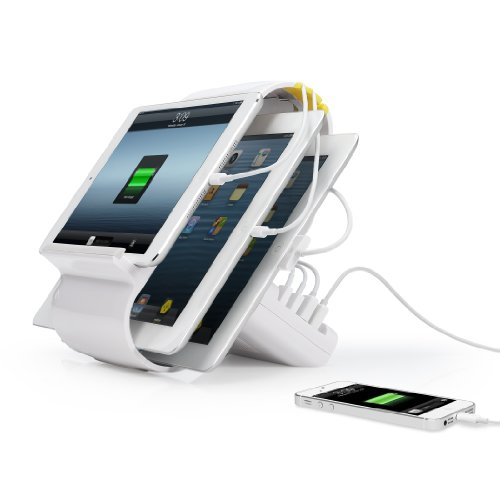 Kanex Sydnee 4-Port 2.1 Amp Charging Station for up to 4 Mob