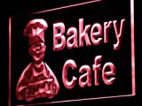ADVPRO Bakery Cafe Shop Bread Cake LED Neon Sign Red 12'' x 8.5'' st4s32-i951-r