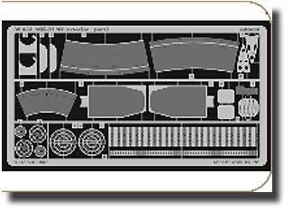 Eduard 1 : 32 MiG - 21 MF Exterior for Trumpeter photo-etched Detail Set # 32054   B019TN82XA