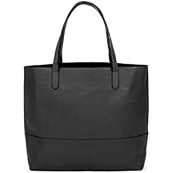 3617c2205 Amazon.com: Overbrooke Large Vegan Leather Tote Bag - Womens Slouchy ...