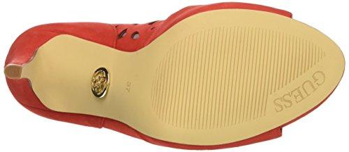 GUESS Lea03 - sandalias con correa Mujer Rojo