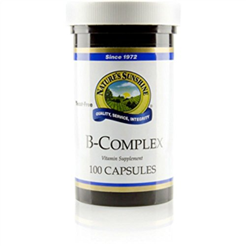 Naturessunshine Vitamin B Complex  100 capsules (Pack of 2)