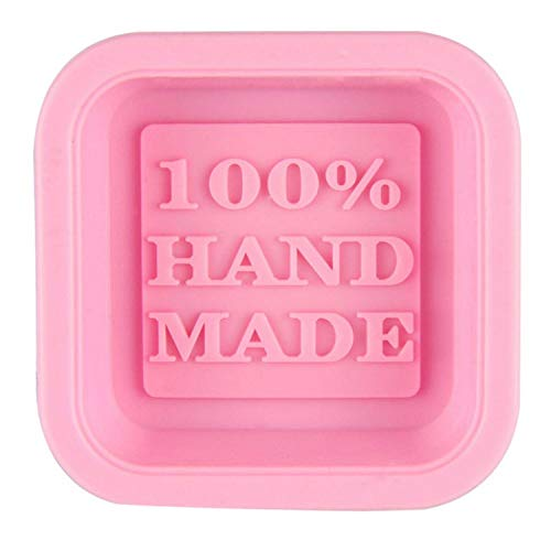 YUNIAO Square Silicone Cake Mould,DIY Soap Mold,Handmade Soap Molds,Bread Loaf Mold,Chocolate Mold,Silicone Oven Safe,Flexible Reusable Soap Box ()