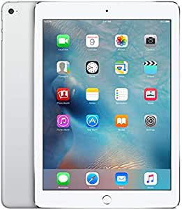 Apple iPad Air 2 64GB WiFi + Cellular Silver (Renewed)