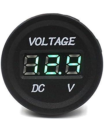 Voltimetro pantalla digital - SODIAL(R)Voltimetro pantalla digital 12V-24V DC coche